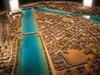 Musée d'Hiroshima - Maquette AVANT l'explosion de la bombe