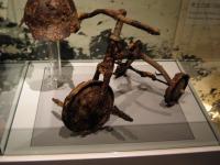 Musée d'Hiroshima - Vélo d'enfant ayant subi les radiations.