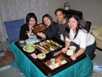 Daphnée et la famille de Namiko