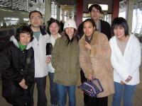 La famille Shinohe ! Papa, maman, Namiko, Kako et Wakana