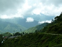 La vallée de Darjeeling