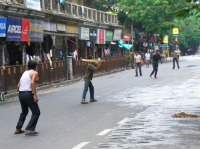 Joueurs de Cricket, Calcutta