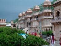 Contrebas du Monkey temple, Jaipur