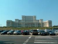 Palais du parlement à Bucarest